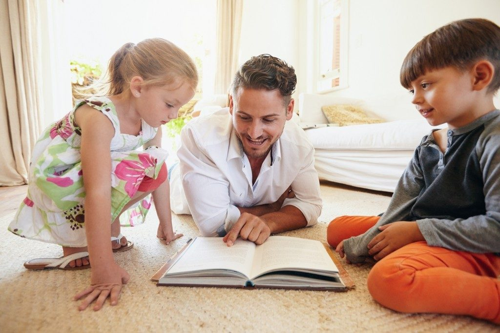 родители дети и библия