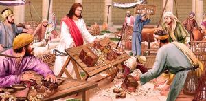 торговля в церкви