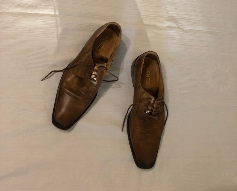 Туфли кожаные коричневые мужские — бесплатно Пермь